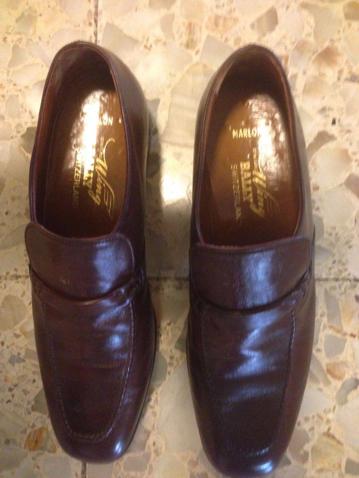 Scarpe casual da uomo  BALLYS uomoS SHOES 7.5 marlon extra souple wing brown loaffer