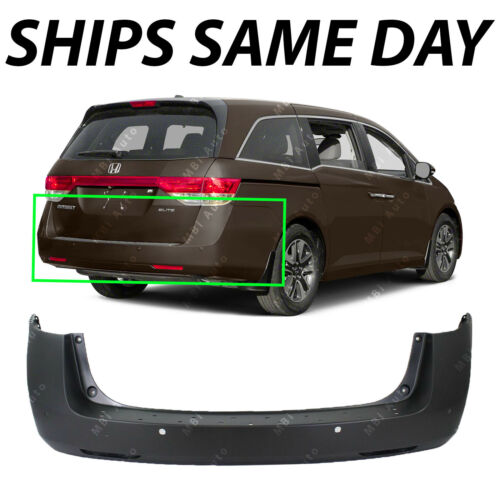 NEW Primered Rear Bumper Replacement for 2011-2017 Honda Odyssey 11-17 W// Park