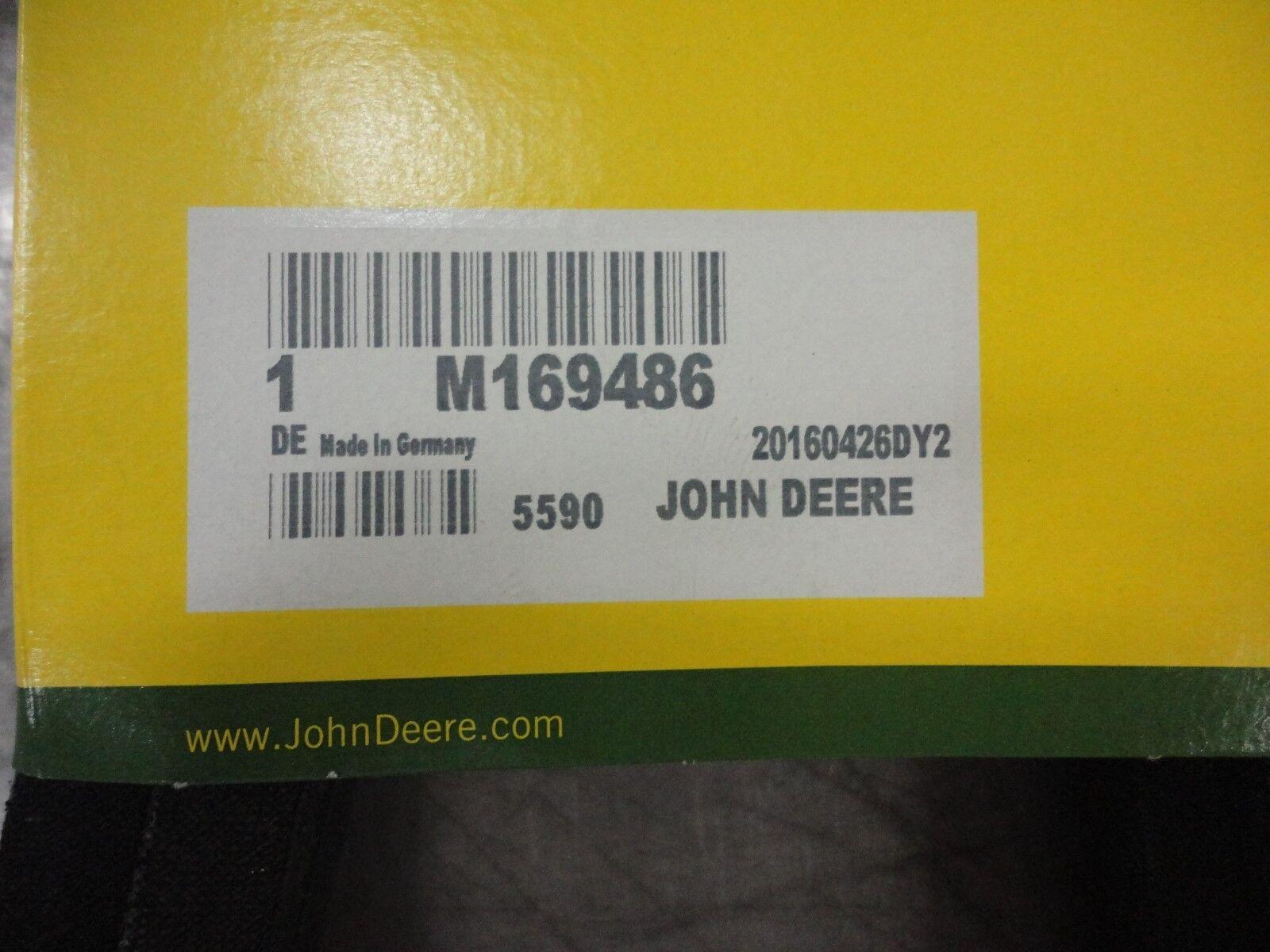 John Deere Original V Belt M169486 Ebay Mower Deck Diagram In Addition Norton Secured Powered By Verisign