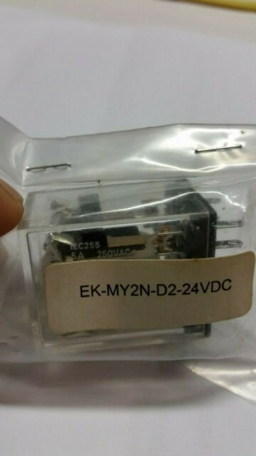 Brand New Omron 24vdc Relay Ek