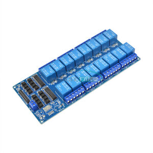 16-Channel-5V-Relay-Shield-Module-with-optocoupler-For-Arduino