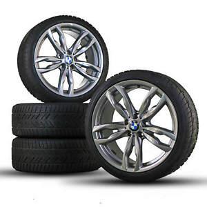 BMW-20-Zoll-Winterreifen-5er-F10-F11-6er-F12-F13-F06-F06-M434-Winterraeder