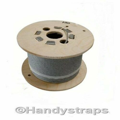 Galvanised Wire Rope 50 Metre of 10mm of 6x19Construction Handy Straps