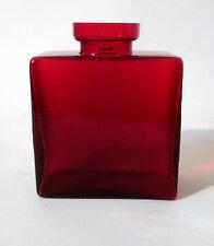 Flaschen Vase H 11cm Glas Klaus Breit Wiesenthalhütte 60s glass bottle annees 60