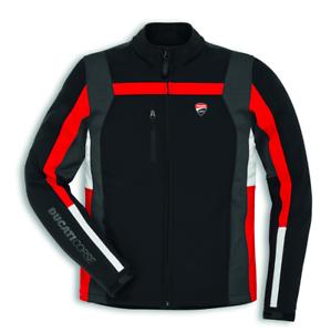 Ducati-Corse-Windproof-3-Windstopper-Jacke-Schwarz-Rot-Groesse-XL