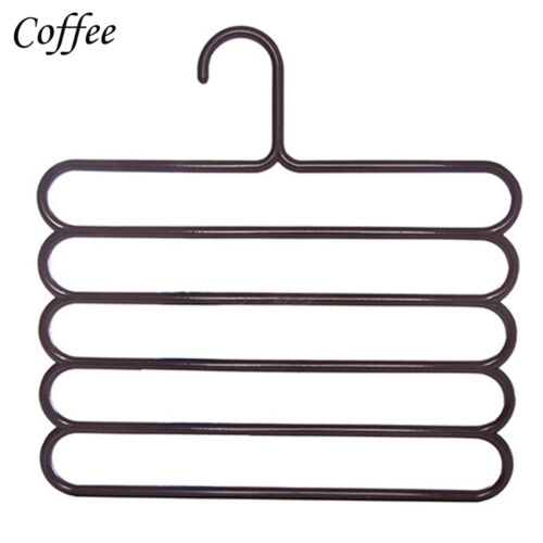 2016 5Layer Pants Scarf Hangers Holders Trousers Towels Clothes Apparel Hangers