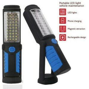 LED Hand Torch Inspection Lamp Flexible Work Light Handheld USB Rechargeable x 1
