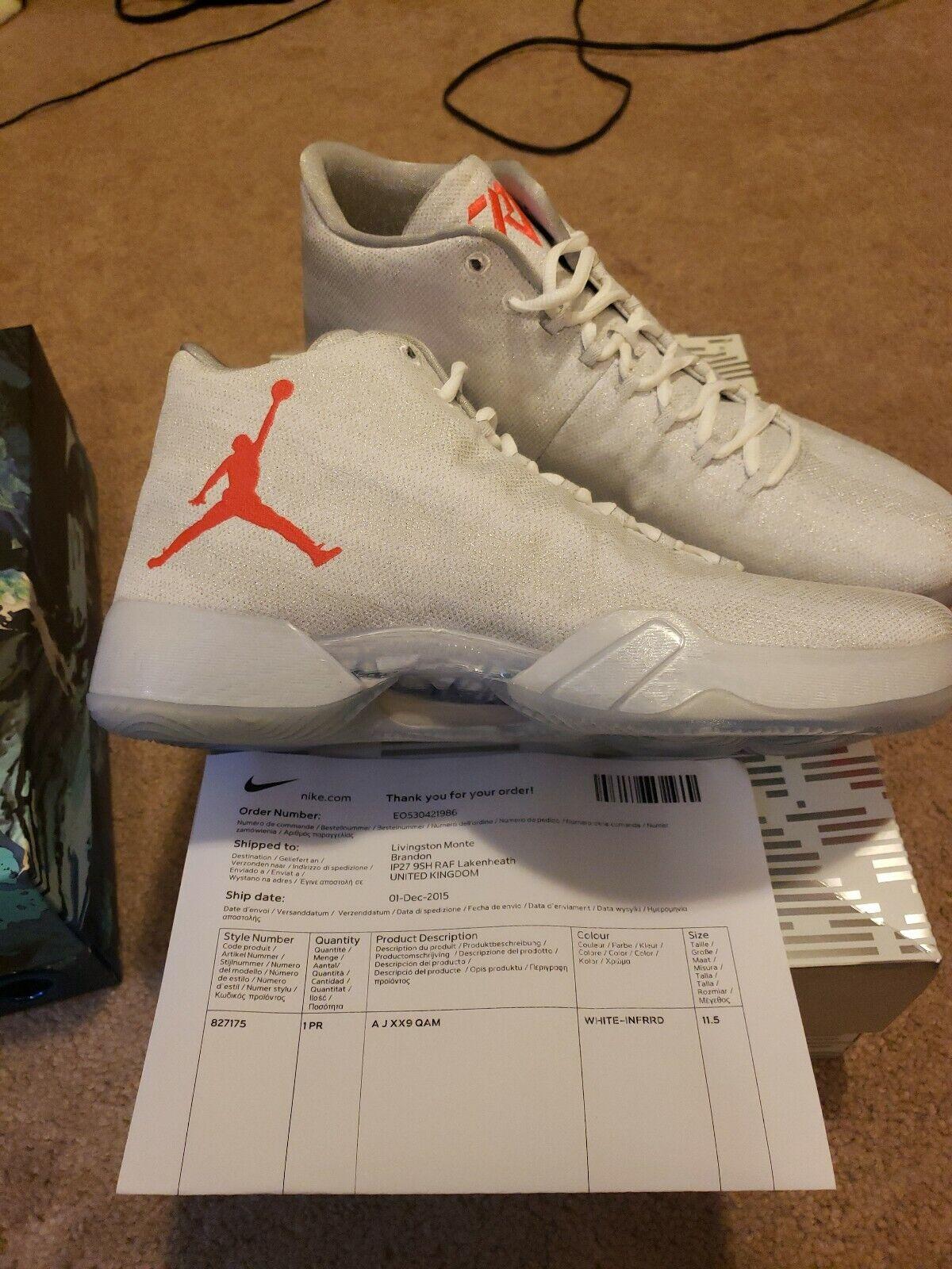 vente chaude en ligne be1b9 7f172 Nike Air Jordan 29 XX9 All Star Westbrook PE Size 11.5. 827175-160 UK only  drop