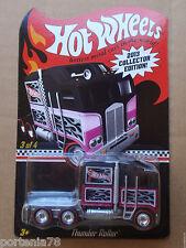 2013 Hot Wheels Mail in Promo Kmart TUNDER ROLLER 3/4 Black Pink