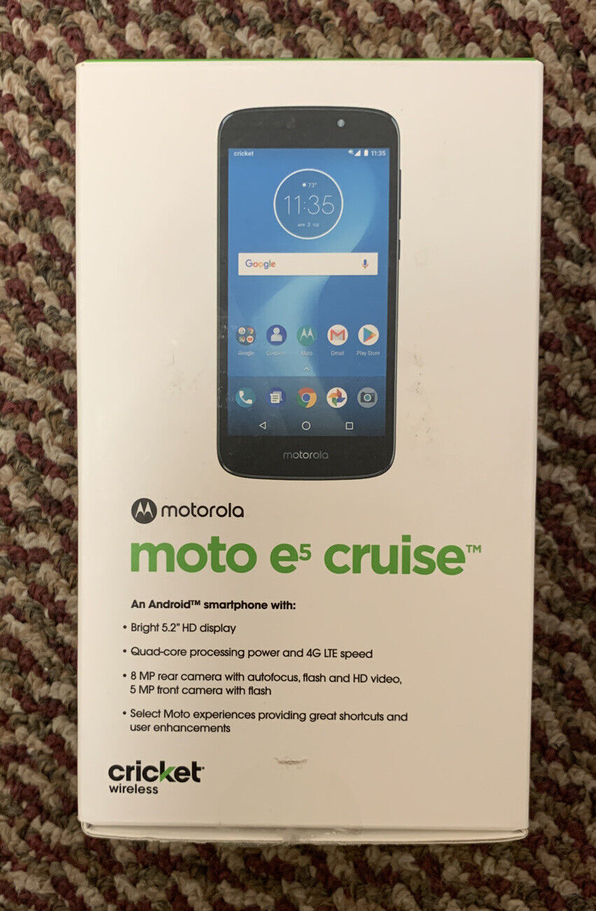 Motorola Moto E5 Cruise Cricket Wireless Smartphone For Sale Online Ebay