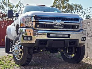 2011 2014 chevrolet 2500 3500 fog light kit with 4 dually led image is loading 2011 2014 chevrolet 2500 3500 fog light kit publicscrutiny Image collections