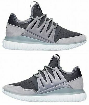 Details about ADIDAS TUBULAR RADIAL CASUAL MEN's MARLE PACK SOLID GREY WHITE GRAPHITE AQ6726