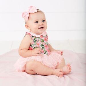 Mud Pie E8 Baby Toddler Girl Mermaid Ruffle Dress 1142241 Choose Size