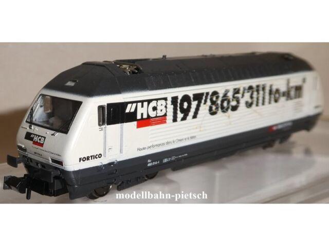 """Minitrix 12674 SBB BR460 """"HCB""""  RE 460 , neu , OVP,   Trix Spur N"""