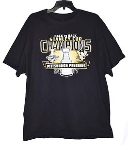 7cf756193 Image is loading PITTSBURGH-PENGUINS-Stanley-Cup-Champions-2017-T-Shirt-