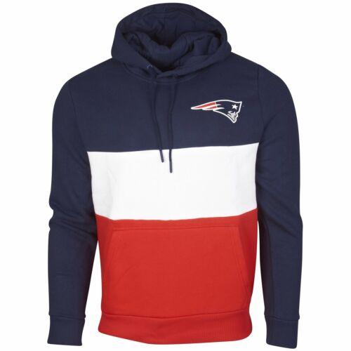 New Era COLOUR BLOCK Hoody NFL New England Patriots