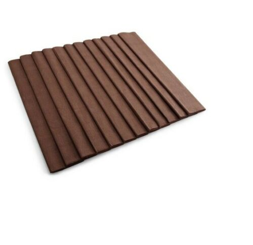 BROWN CREPE PAPER CRAFTS /& GIFT PACKAGING FLUORESCENT METALLIC 0.5M x 3M FOLDS