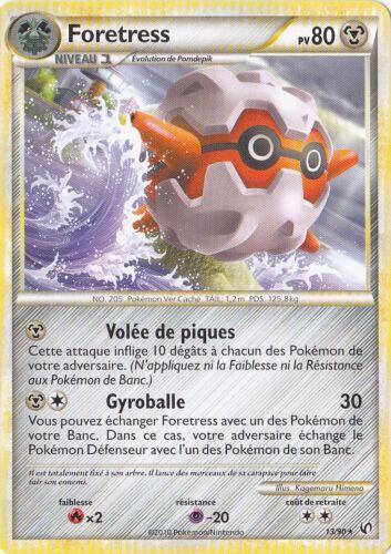 Foretress-hs 13//90 indomitable pokemon card new france