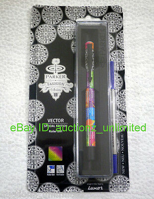 Parker Vector Fashion Series Special Edition Roller Ball Pen Zodiac -New Sealed