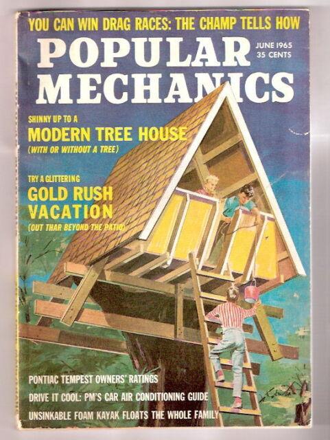 POPULAR MECHANICS MAGAZINE   June 1965       EXMT