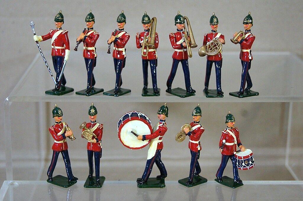 Réplica Modelos Patricio Campbell Victoriano Banda de la Línea con Puntas Cascos