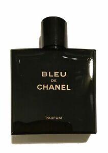 Bleu-De-Chanel-Edp-Factice-Display-Bottle-Colored-Water-No-Perfume-Rare