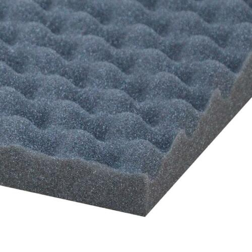 3x Car Audio Auto Acoustic Egg Foam Sound Proofing Damping Deadening Mat Sheet