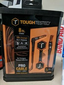 Details about Tough Tested 8 ft Audio Cable