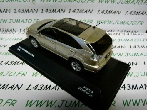 TOYOTA Harrier AIRS 2006 voiture 1//43 J collection JAPON