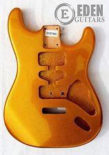 Eden Standard Series Paulownia Tremolo Body for Stratocaster Guitar Gold Sparkle