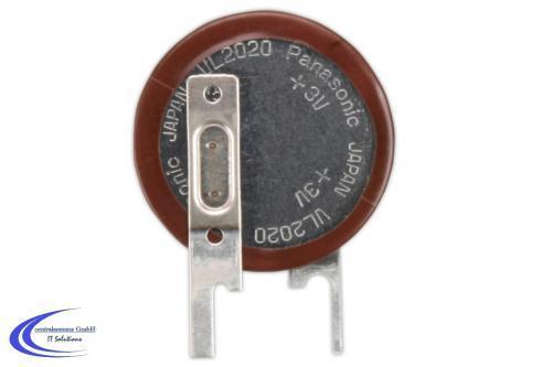 Wiederaufladbarer Lithium Akku / Batterie  PANASONIC VL2020 * wie Knopfzelle 3V