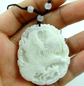 100-Chinese-jade-hand-carved-the-statue-of-Eagle-species-PENDANT