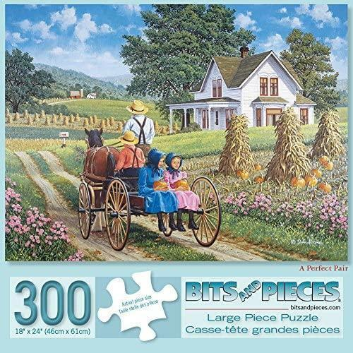 Bits and Pieces - 300 Piece Jigsaw Puzzle for Adults - A Perfect Pair 300 - 300