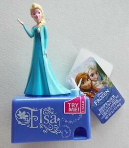 NEW-With-Tags-DISNEY-FROZEN-ELSA-Dispenser-with-Candy-Pieces