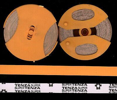 1x ORIGINAL DYMO 12mm x 3,0M PRÄGEBAND GELB glanz für Etiketten label yellow