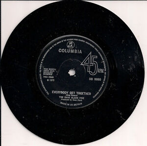 The Dave Clark Five Everybody Get Together UK 45 7034 single Darling I Love You - Worthing, United Kingdom - The Dave Clark Five Everybody Get Together UK 45 7034 single Darling I Love You - Worthing, United Kingdom