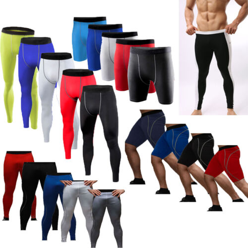 Herren Kompression Shorts Sport Funktionsunterwäsche Baselayer Gym Tights Hose