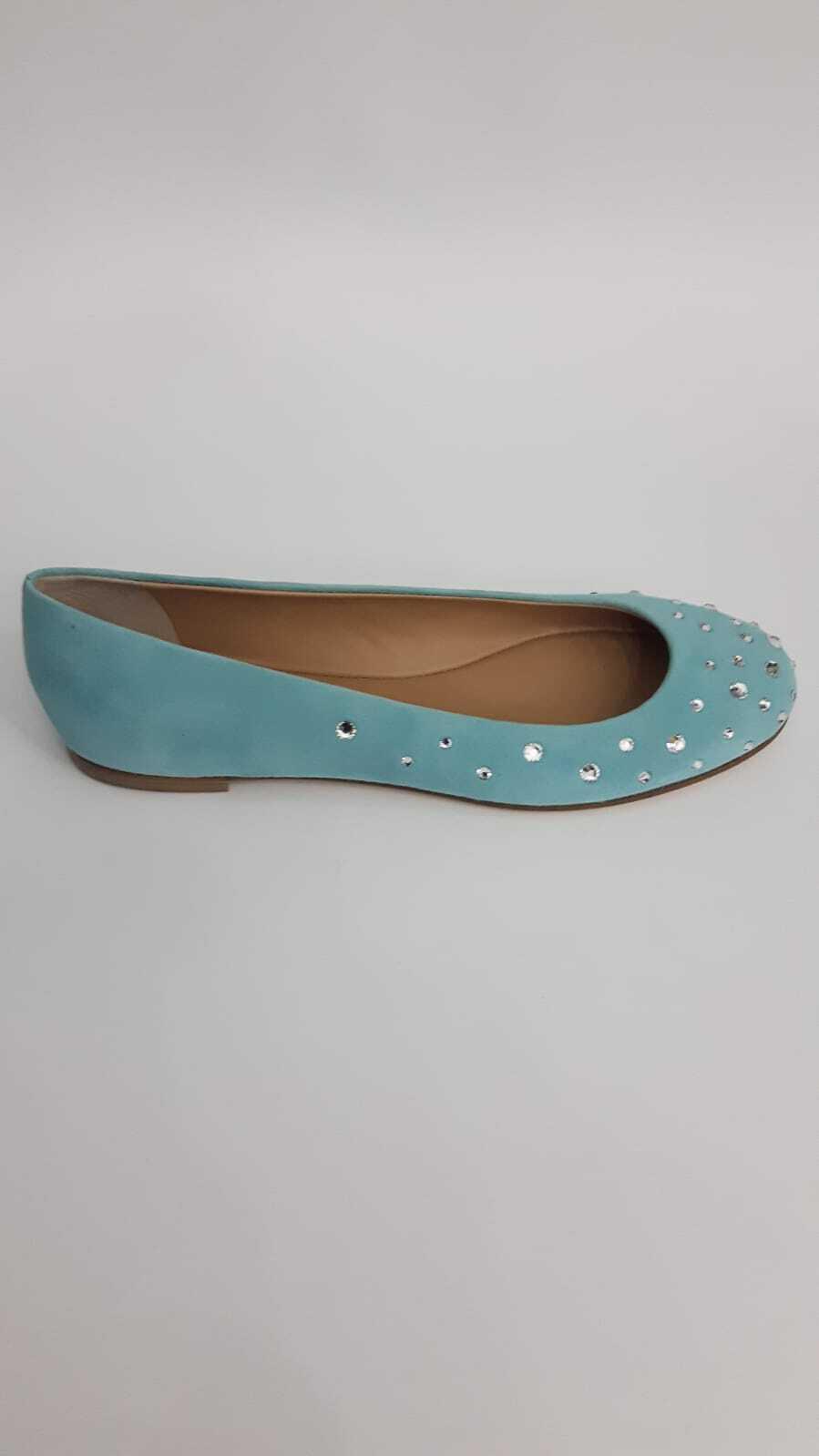 Giuseppe Zanotti Ballerina Baby Blau Woman n.37 Price List Price