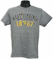 Wvu West Virginia Mountaineer's 1867 T-shirt Size Large