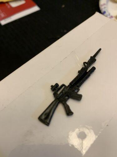 Gijoe Black Major Steel Brigade Gold Head GUN SEULEMENT Lot Comme neuf C9+