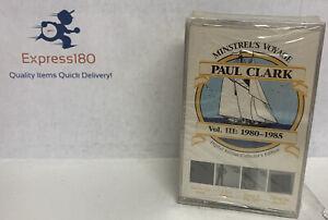 (IH) PAUL CLARK Minstrel's Voyage Vol III 1980-1985 2 Cassette Tapes Factory New
