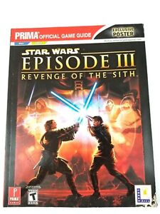 Star Wars Episode 3 Iii Revenge Of The Sith Official Game Guide Ps2 Xbox A12 23272327354 Ebay