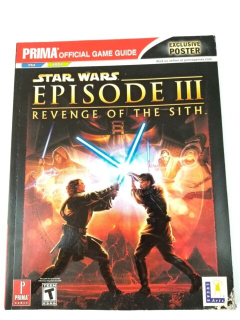 Star Wars Episode Iii Revenge Of The Sith Playstation 2 Ps2 For Sale Online Ebay