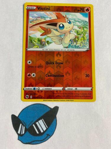 Victini 7//73 Reverse Holo Champions Path Pokemon TCG
