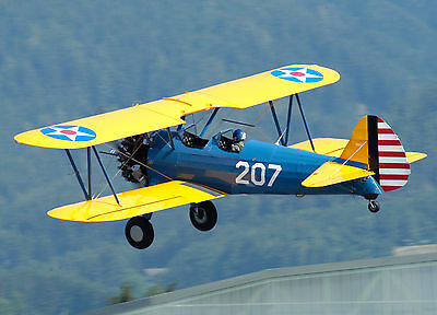 1//3 Scale STEARMAN PT-17  RC Giant Scale Model AIrplane Digital Plans