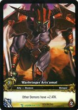 WOW TCG Warbringer Arix'amal LEGION 254/319 WORLD OF WARCRAFT ENG