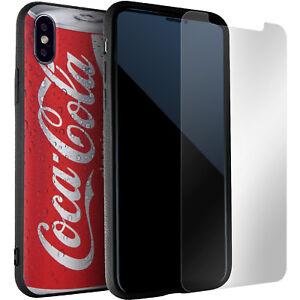 best website 991f0 e9224 Details about Coca Cola iPhone X Case Bumper AntiSlip AntiScratch Cover +  Screen Protector