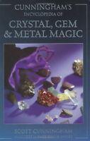 Cunningham`s Encyclopedia Of Crystal, Gem And Metal Magic (cunningham`s Encyclop on sale