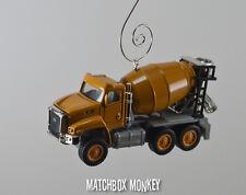 Caterpillar CAT CT660 Cement Mixer Truck 1/92 Christmas Ornament Deere Volvo
