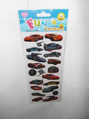 Sticker Sheet 1005 2 sheets Cars /& Transport